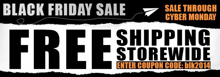 Black Friday Free Shipping