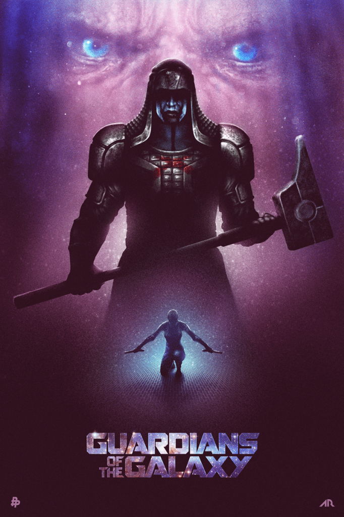 guardians_of_the_galaxy___blurppy_s_poster_posse_by_adamrabalais-d7lfj59