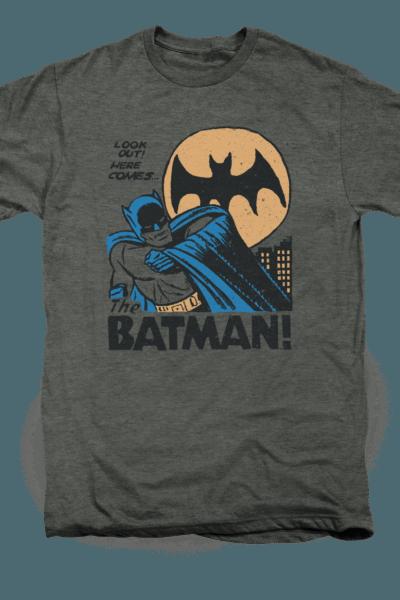 DC Look Out Batman
