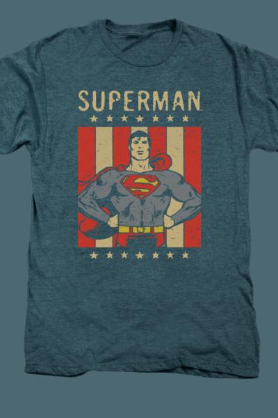DC Retro Liberty Superman