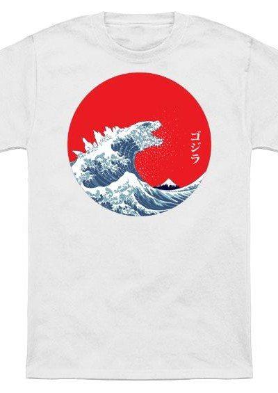 Hokusai Gojira