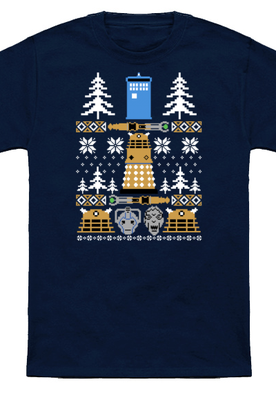 Doctor Who Ugly Sweater