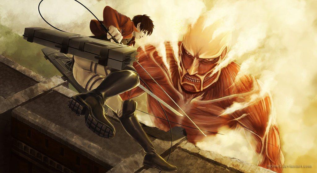 Amazing Attack on Titan Fan Art - TeeHunter.com