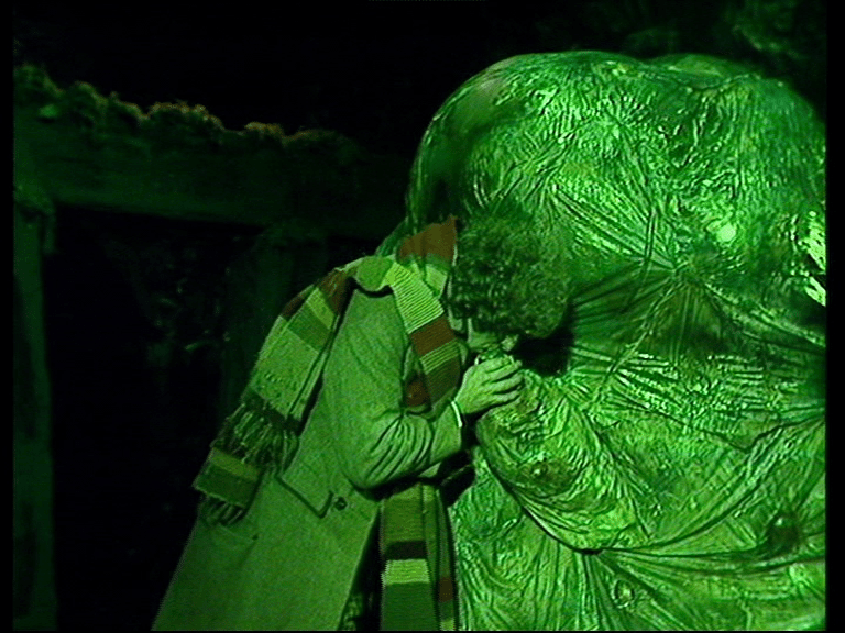 Uncomfortable Moments from Doctor Who creature of the pit