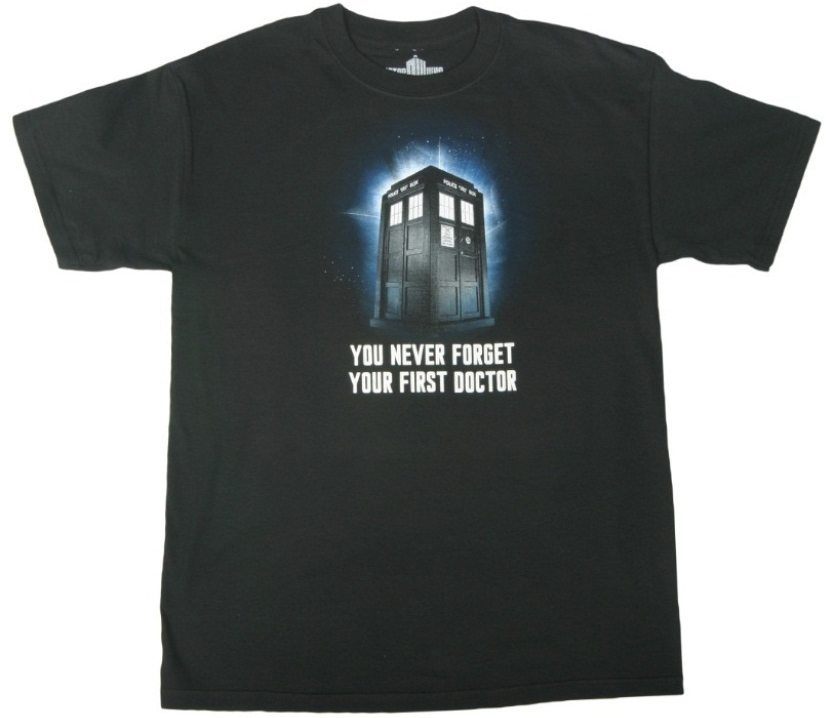 doctor-who-you-never-forget-tshirt-front