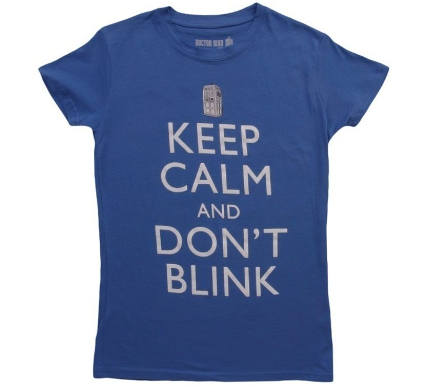 womens-keep-calm-and-dont-blink-tshirt-front
