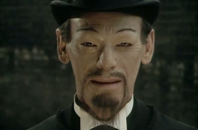 Uncomfortable Moments from Doctor Who yellowface