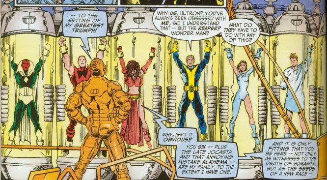 avengers vs ultron