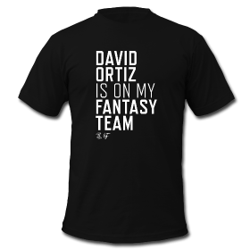 MLB Players – David Ortiz is on my Fantasy Team