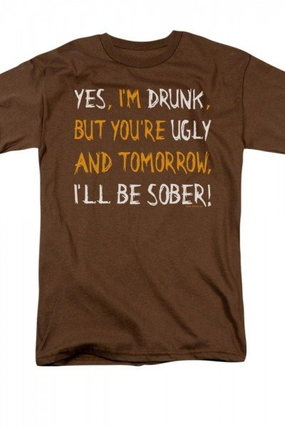 Yes I'm Drunk