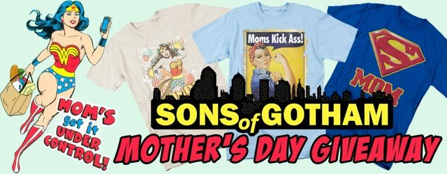 Mother's Day Giveaway – Win 2 Tees from Sons of Gotham