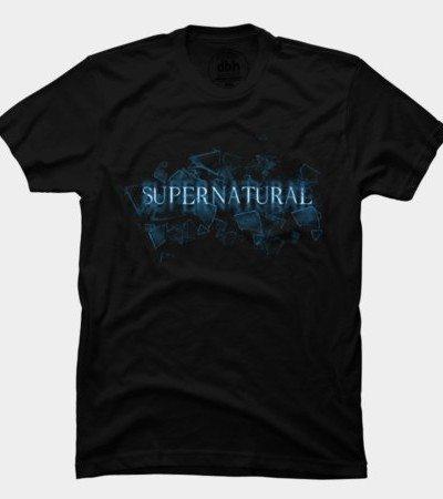 Supernatural Text Glass