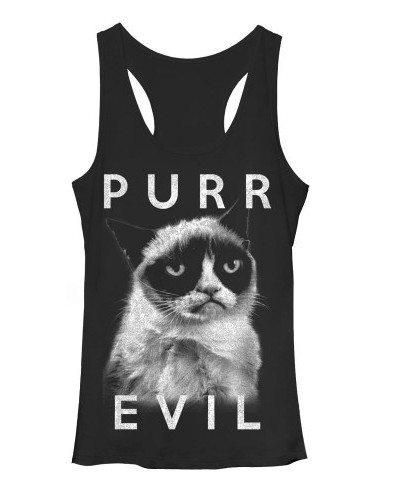 Grumpy Cat Purr Evil