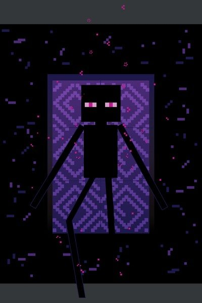 Minecraft – Here Comes the Enderman