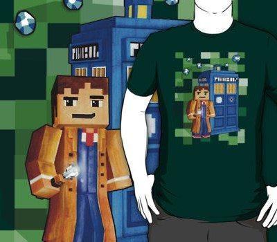 Minecraft – 8 Bit Blue Box