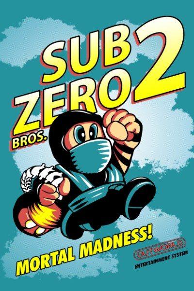 Mortal Kombat – Super Zero Bros.