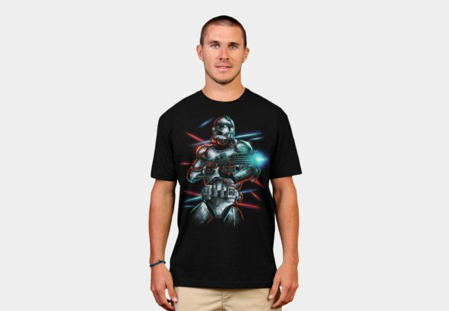 clone officially licensed star wars t-shirts