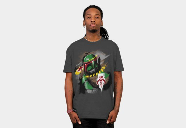 Star Wars Giveaway hunter officially licensed star wars t-shirts