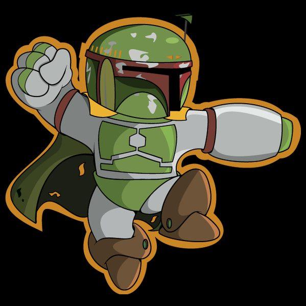 Mega-Man-Boba-Fett-Mash-up