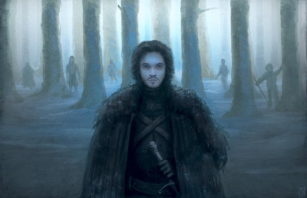 jon_snow_and_white_walkers Jon Snow Fan Theory