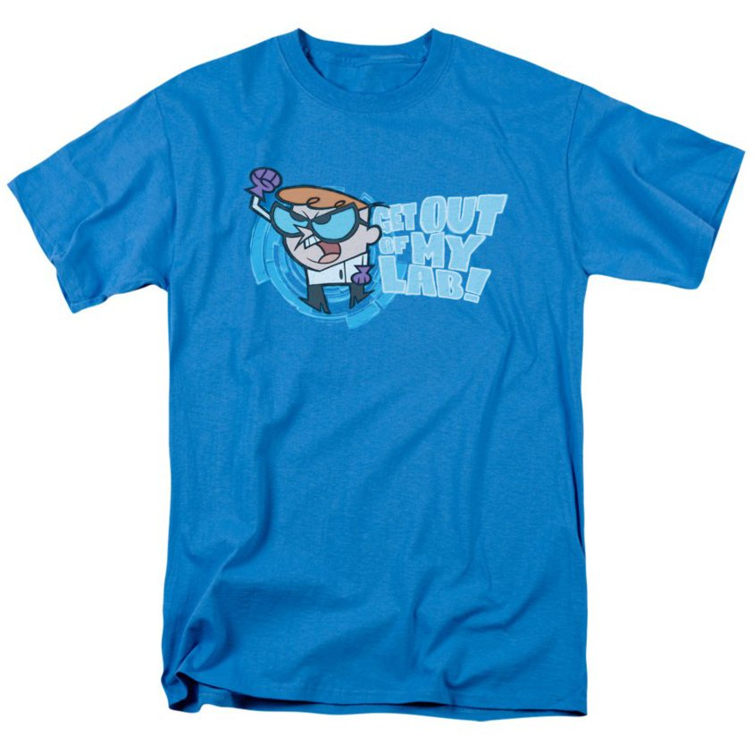 dexters-laboratory-get-out-adult-t-shirt-eef