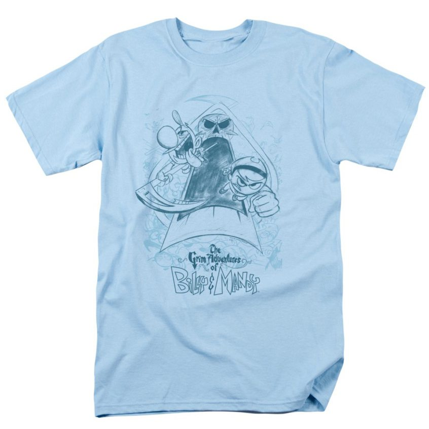 grim-adventures-of-billy-mandy-sketched-adult-t-shirt-81