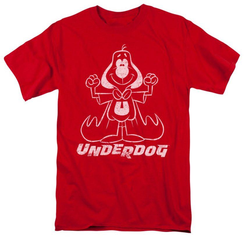 underdog-outline-under-adult-t-shirt-cc4