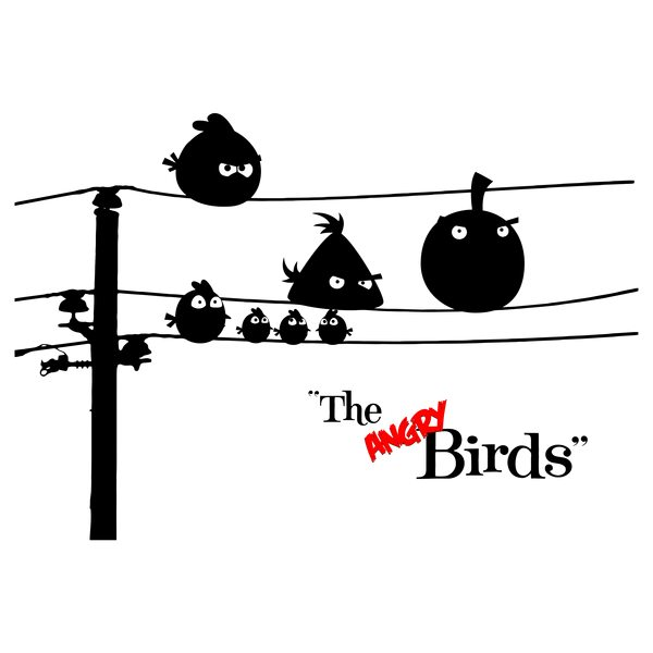 Hitchcock's The Angry Birds