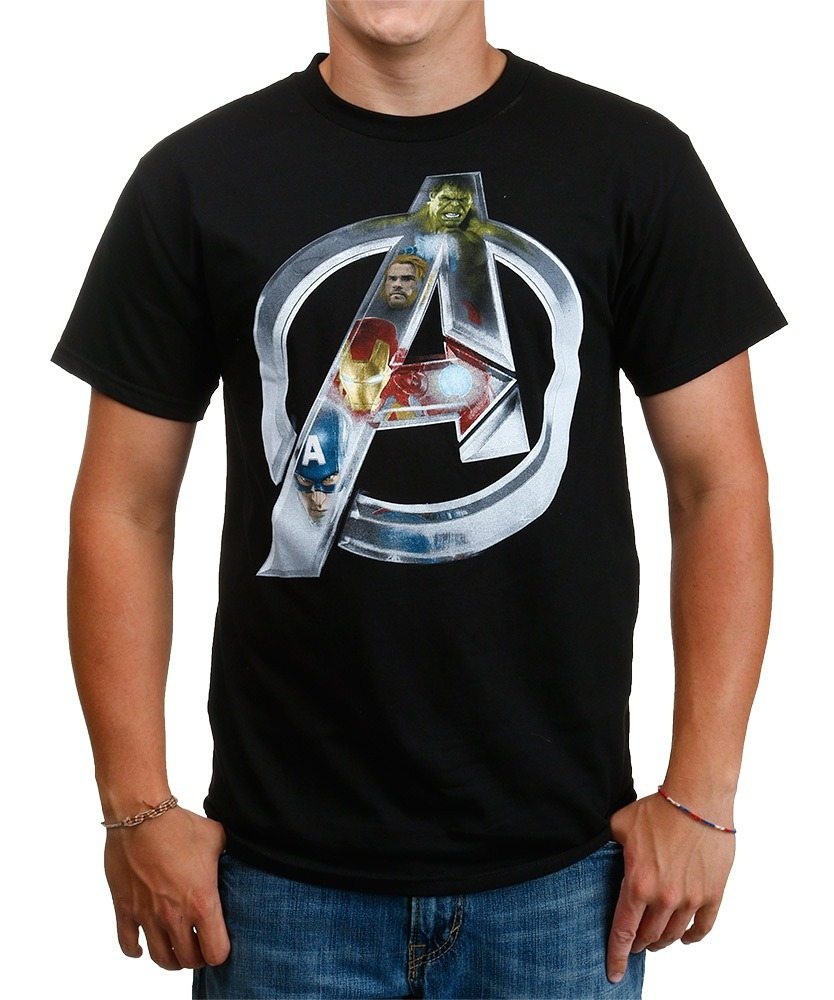 Avengers Chrome Logo