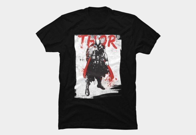 Thor in Grunge