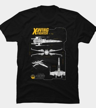 Resistance X-Wing Schematics T-Shirt - TeeHunter.com on b-wing schematics, at-at schematics, a wing fighter schematics, tie interceptor schematics, minecraft schematics, y-wing schematics, halo warthog schematics,