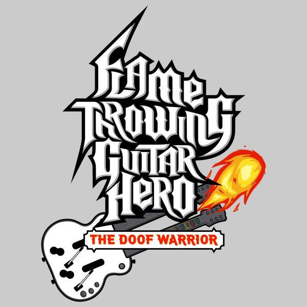 Flamethrowing Guitar Hero