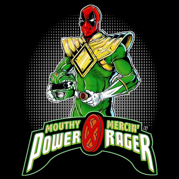 Power-Rager-Green