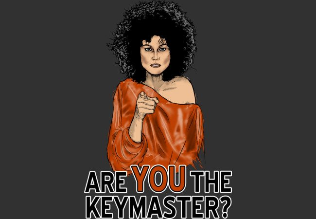 are you the keymaster