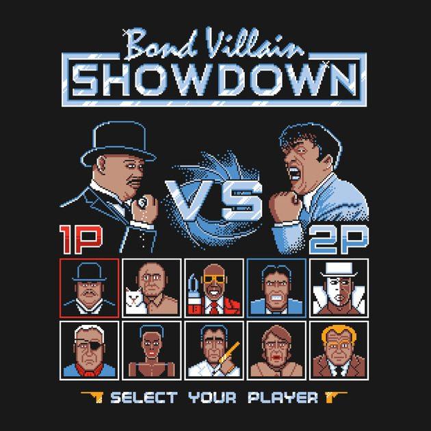 bond villain showdown