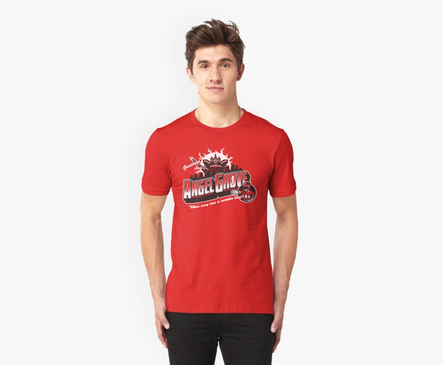 Power Rangers t-shirts greetings power rangers