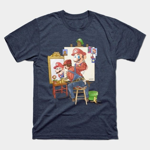 Mario's Triple Portrait