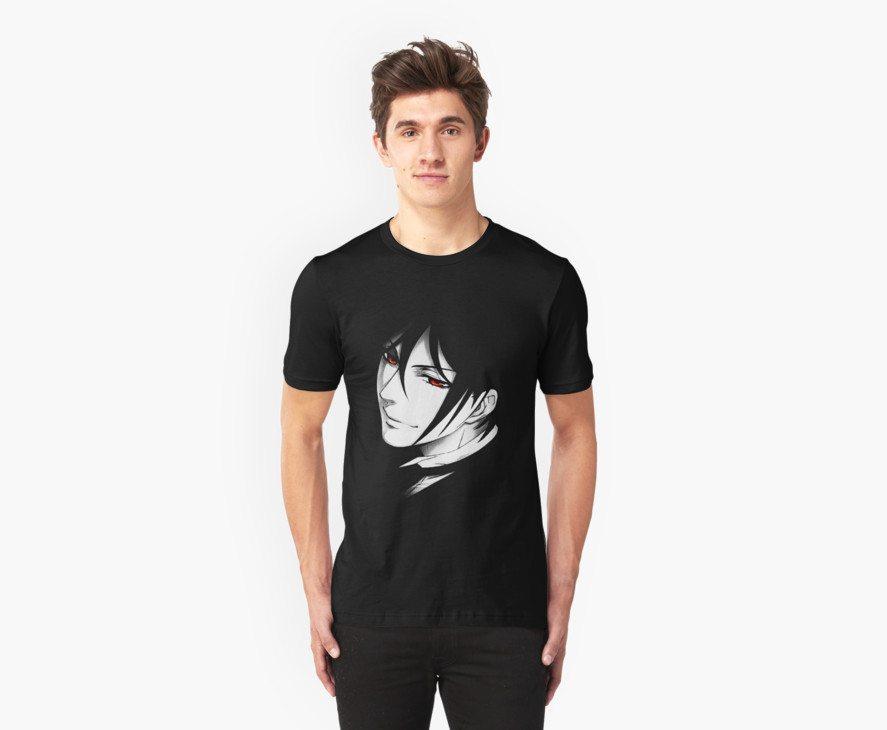 Black Butler t-shirts black butler