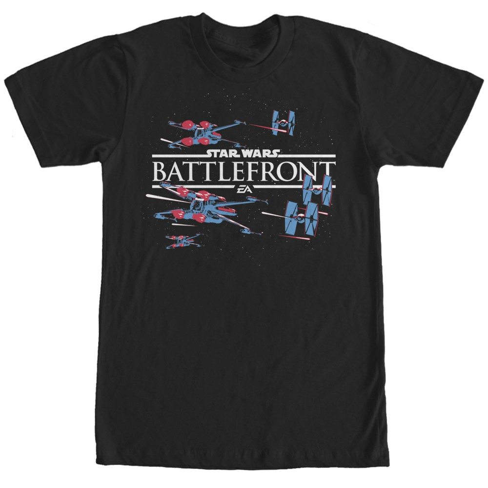 Battlefront X-Wing and TIE Fighter