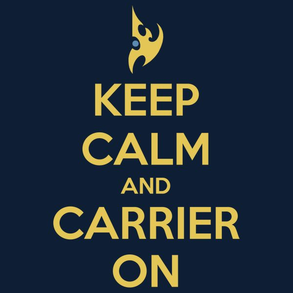 Keep Calm and Carrier On!