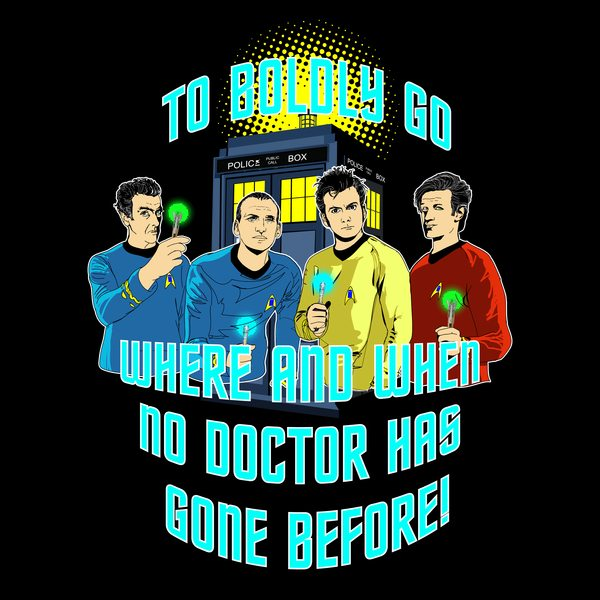To Boldly Go Where and When No Doctor Has Gone Before