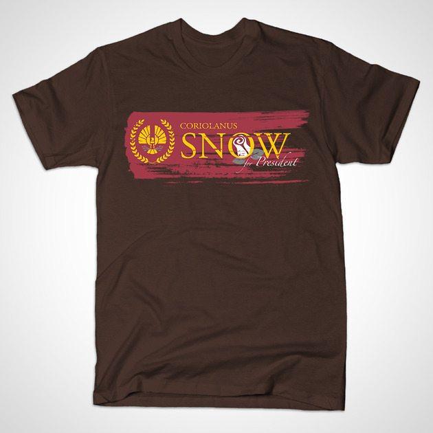 Snow for President of Panem