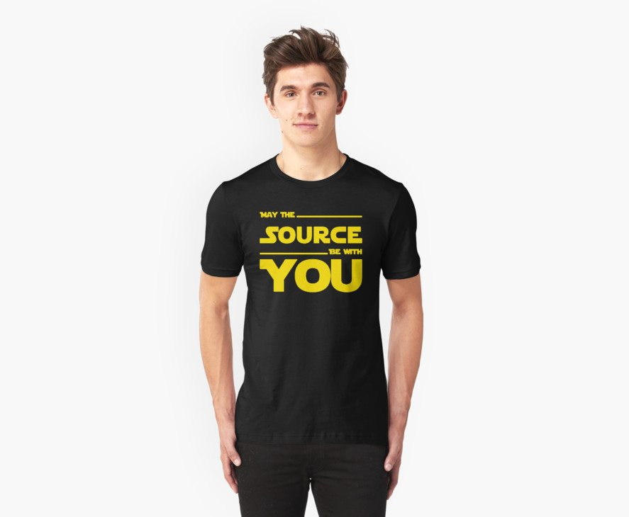 May The Source Be With You – Stars Wars Parody for Programmers
