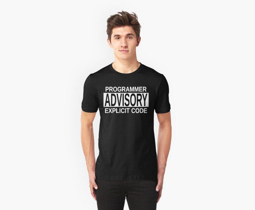 Programmer Advisory Explicit Code – Parody Design for Programmers