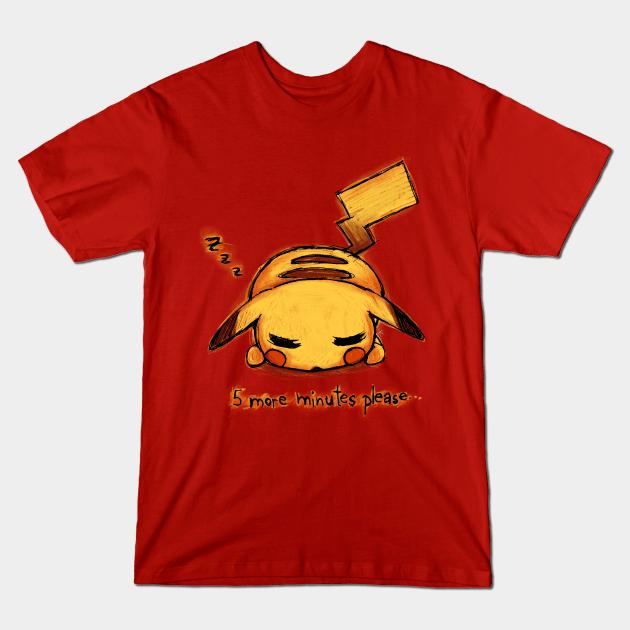 Nap Time Pikachu