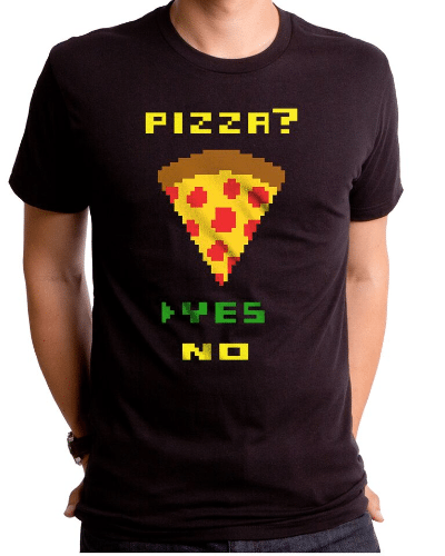 Pizza Yes Men's T-Shirt