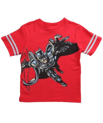 Boys Juvy Batman Hand Red T-Shirt