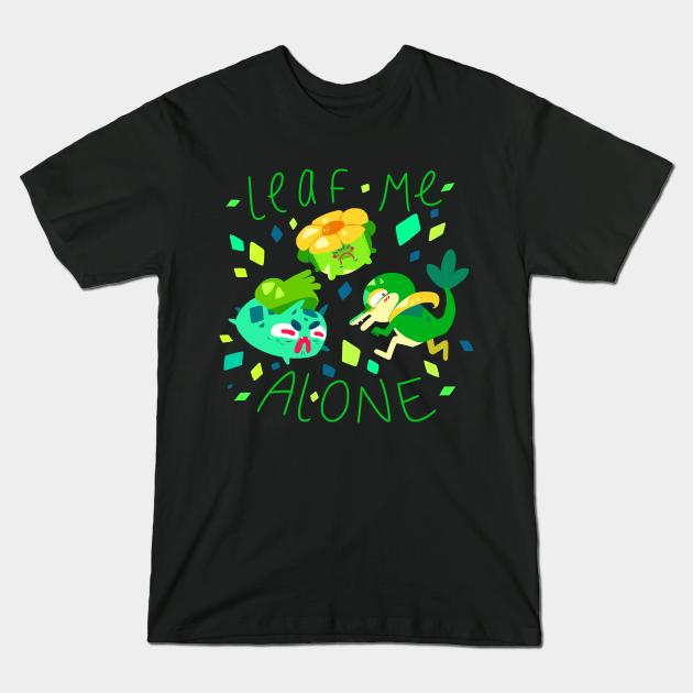Leaf me alone! – Grass pokemon