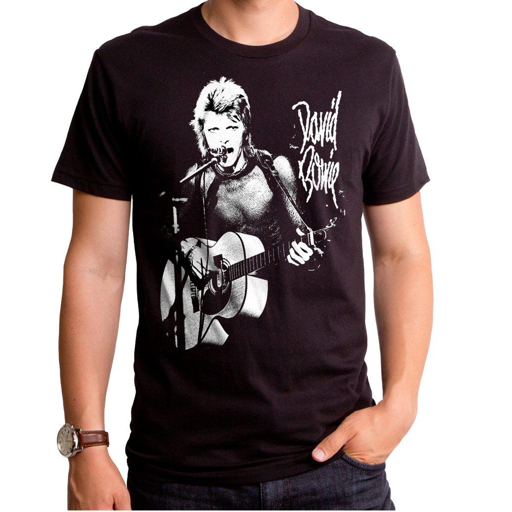 David Bowie New Era Rock Men's T-Shirt
