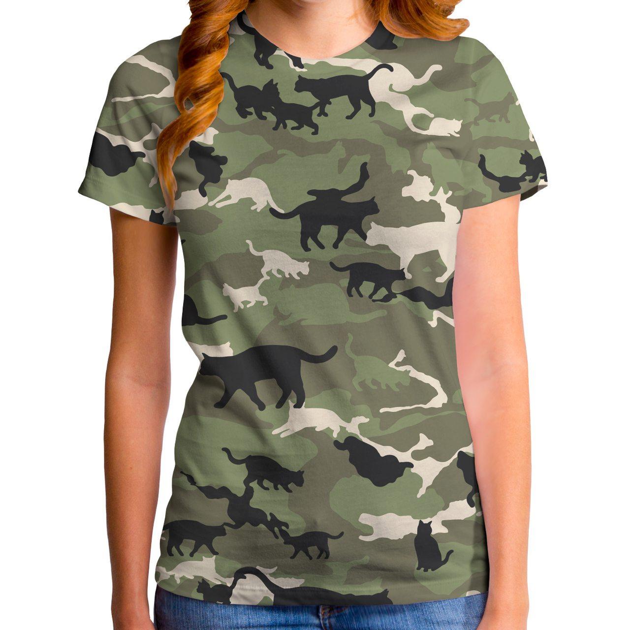 Catmouflage Women's T-Shirt
